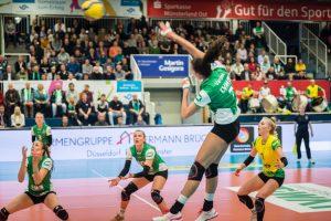 USC-Spielerin Ivana Vanjak in Aktion (Foto: Michael Mücke)