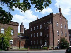 Die JVA Münster, hier am alten Standort an der Gartenstraße. (Foto: BLB NRW)