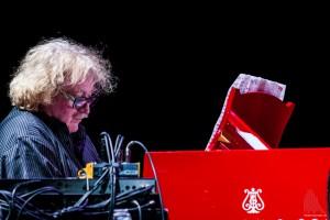 Jazz-Pianist Jasper van't Hof, das Highlight am Samstag. (Foto: sg)