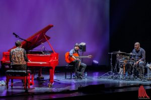 Zu Träumereien bei Flamenco-Sound luden Chicuela und Mezquida zum Abschluss des ersten Tages ein. (Foto: Stephan Günther)