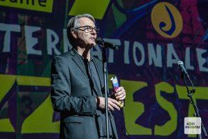 Fritz Schmücker, künstlerischer Leiter des Internationalen Jazzfestivals. (Archivbild: Stephan Günther)