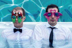 Florian Ludewig & Bastian Korff sind mit ihrem Pop-Cabaret Ende September im Kreativ-Haus. (Foto: Markus Hodapp)