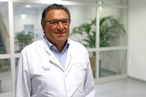Prof. Dr. Stephan Ludwig ist Direktor des Instituts für Molekulare Virologie am Zentrum für Molekularbiologie der Entzündung (ZMBE). (Foto: UKM)