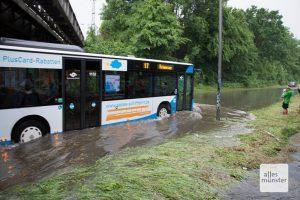 Auch in Zukunft muss mit verheerenden Niederschlägen in Münster gerechnet werden (Archivbild: Thomas Hölscher)