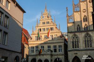Wird das Rathaus bald von den Grünen mit SPD und Volt regiert? (Archivbild: Stephan Günther)