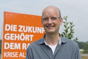 Michael Krapp von der ÖDP tritt als OB-Kandidat an. (Foto: ÖDP Münster)