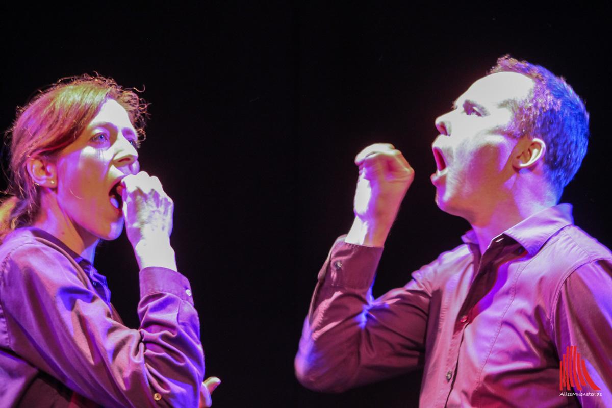 Irmhild Fischer und Marcus Loebe-Keuter singen für Island. (Foto: bk)