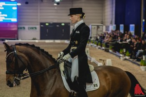 """Juliane Brunkhorst siegte auf """"Sieger Hit"""" in der Grand Prix Kür. (Foto: sg)"""