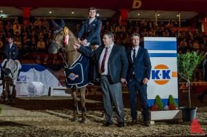 Großer Preis: Der glückliche Sieger Jörg Oppermann. (Foto: th)