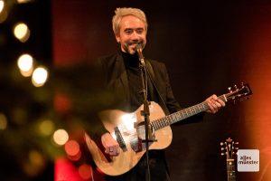 Jan Löchel während seines Weihnachtskonzerts im Kulturbahnhof Hiltrup