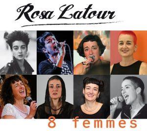 """Das Cover für die CD """"8 femmes"""""""