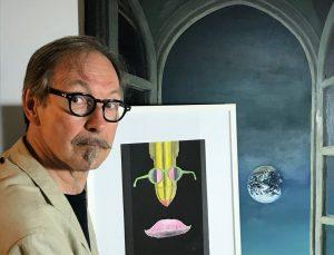 """""""Bodennullpunkt"""" heißt dieses Bild von Laurenz E. Kirchner , das der Kunstinstallation am 6. August den Namen gab. (Foto: privat)"""