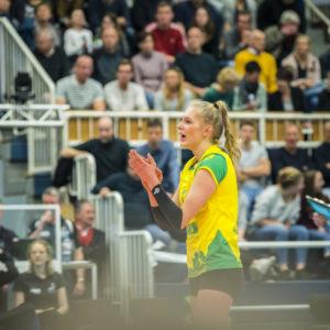 Nationalspielerin Linda Block. (Foto: Michael Mücke)