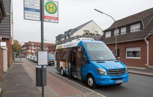 Kleine Busse ganz groß: Seit dem Fahrplanwechsel werden die kleinen Helfer getestet. (Foto: Stadtwerke)