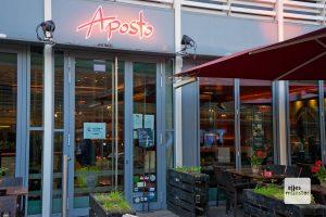 Für die Gäste bleibt für vier Wochen die Tür in Münsters Gastro-Betrieben dicht. (Foto: Michael Bührke)