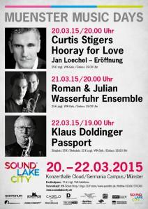 Hochkarätiges Programm bei den diesjährigen Münster Music Days.