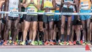 Auf den Straßen haben am Wochenende Läufer des Münster-Marathon Vorfahrt. (Foto: ts)