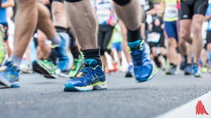 Großer Run auf die Plätze für die Staffeln beim Münster Marathon. (Foto: ts)