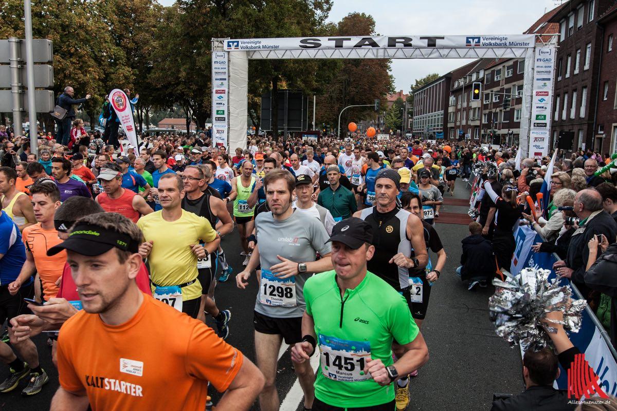 Beim Münster Marathon sind noch Plätze frei. (Foto: sg)