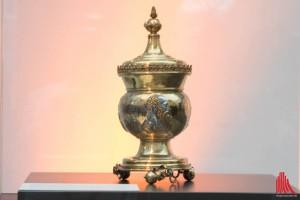 """Der Martinus Pokal legte den Grundstein für die """"Freunde und Förderer des LWL Museums"""". (Foto: cb)"""