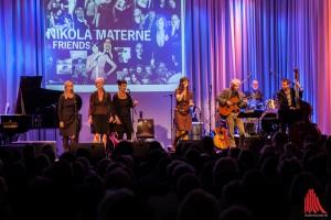 Nikola MAterne & Friends begeisterten am Freitag in der Cloud am Germania-Campus. (Foto: sg)