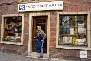 Das Antiquariat Solder. (Foto: Michael Bührke)