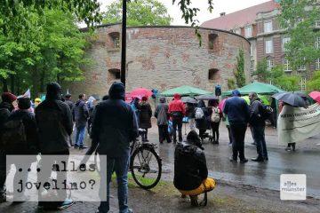 Es war am Meimeln beim letzten Gedenken zum 8. Mai am Zwinger. (Foto: Marion Lohoff-Börger)
