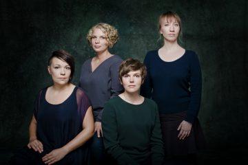 Das Berliner Vokal-Quartett Niniwe. (Foto: Mali Label)