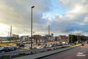 Seit dieser Woche ist fast nichts mehr von den ehemaligen Osmo-Hallen übrig. (Foto: Ralf Clausen)