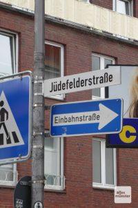 Blick in die Jüdefelderstraße. (Foto: Marion Lohoff-Börger)
