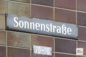 Die heutige Sonnenstraße war damals ebenfalls ein berüchtigtes Viertel, wo Masematte gesprochen wurde. (Foto: Marion Lohoff-Börger)