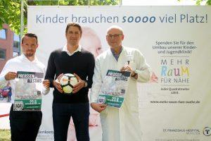 Benjamin Sieger, Daniel Masuch und PD Dr. med. Michael Buswald (v. r.) (Bild: (Pressefoto)