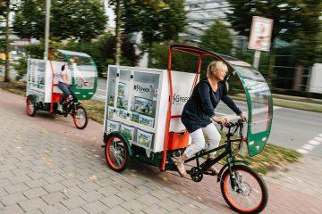 Niederlassungsleiter von sechs verschiedenen Brillux-Standorten trafen sich in Münster zum Probefahren. (Foto: Brillux)