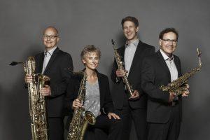 Das Pindakaas Saxophon Quartett. (Foto: Krischerfotografie)