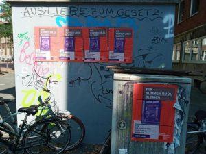 """Die Plakataktion der Kampagne """"Aber Dalli"""" im Bahnhofsviertel. (Foto: """"Aber Dalli"""")"""