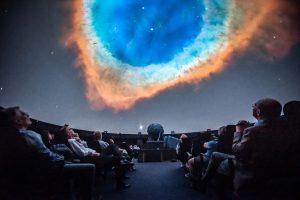 Verzichten müssen Sternenfans jetzt erstmal auf die Besuche im LWL-Planetarium. Das Sternentheater wird 2021 umgebaut. (Foto: LWL/ Steinweg)