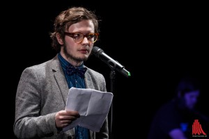Der Professor Hastig des 21. Jahrhunderts: Jason Bartsch (Foto: sg)