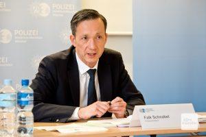 Polizeipräsident Falk Schnabel (Foto: Bührke)