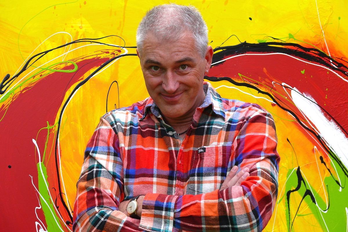 Der Künstler Reiner Schlag präsentiert neue Werke. (Foto: privat)