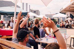 Projektabstimmung beim '6. Hansa-Konvent'. (Foto: Franca Hengstermann)