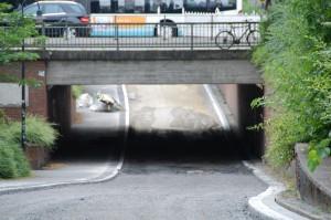 Die Unterführung an der Promenade ist wieder frei. (Foto: BRMS)