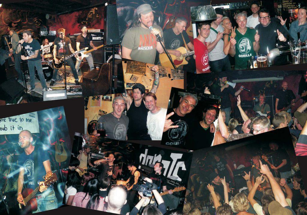 Auf der kleinen Bühne in der Gorilla Bar fanden schon die H-Blockx, die Donots und Mr. Irish Bastards Platz. (Foto: Gorilla Bar)