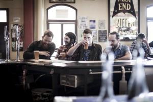 """Auch die Australier """"Paper Arms"""" bringen ihr neues Album mit. (Foto: th)"""