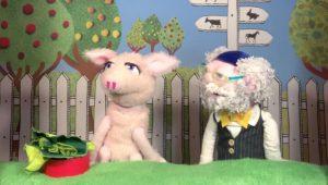 """""""Bubales"""", das einzige jüdische Puppentheater Deutschlands, zeigt am Sonntag in zwei Aufführungen """"Die Koscher-Maschine"""" für alle Menschen ab fünf Jahren. (Foto: Bubales)"""