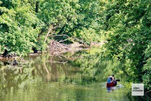 Der Amazonas des Münsterlandes: Die Werse. (Foto: Michael Bührke)
