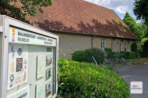 Das Sandsteinmuseum in Havixbeck ist längst kein Geheimtipp mehr! (Foto: Michael Bührke)