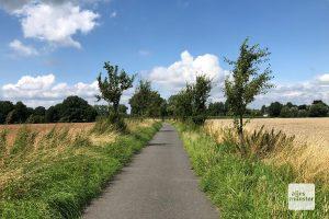 Die Tour führt fast ausschließlich über abgelegene, ruhige Wege und Straße (Foto: Bührke)