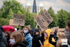 Am Donnerstag wird gegen das neue Versammlungsgesetz NRW und gegen Polizeigewalt demonstriert. (Archivbild: Michael Bührke)
