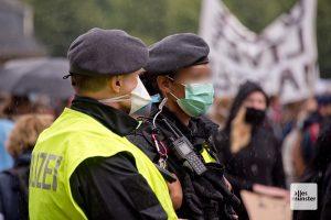 Mit dem neuen Versammlungsgesetz NRW soll die Polizei mehr Befugnisse erhalten. (Archivbild: Michael Bührke)