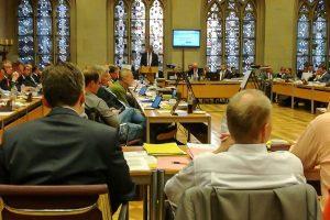 Bei der Ratssitzung stand unter anderem der städtische Haushalt auf der Tagesordnung. (Archivbild: privat)